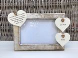 Shabby personalised Chic Photo Frame Auntie Aunty Great Aunt Any Name Etc - 232992660545